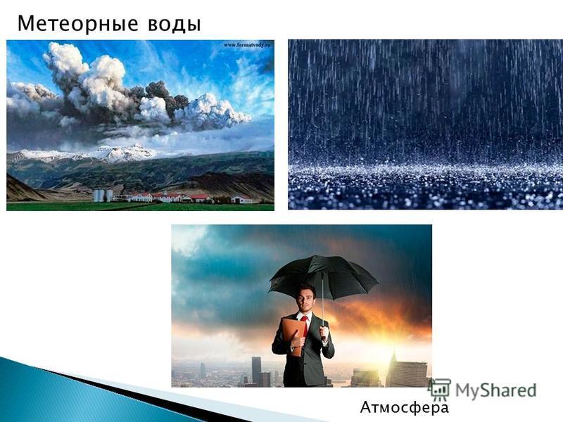 Метеорные воды Атмосфера