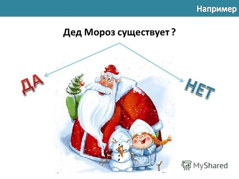 Дед Мороз существует ?