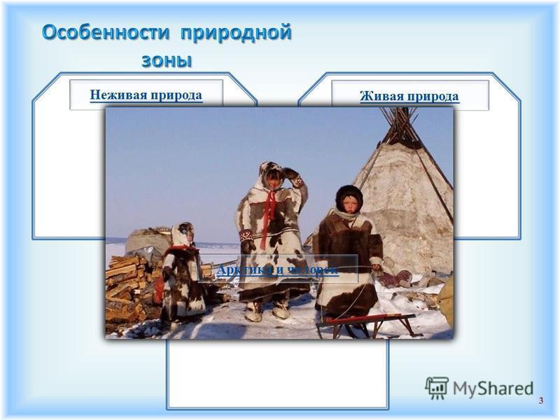2 Зона арктических пустынь Природные зоны России