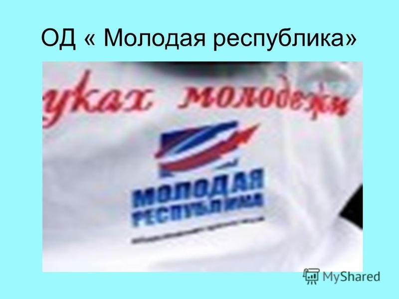 ОД « Молодая республика»