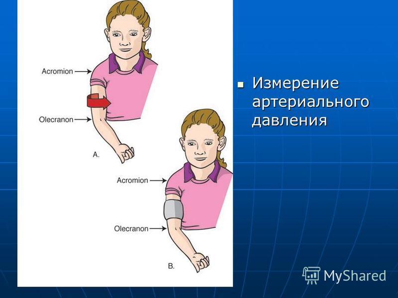 Измерение артериального давления Измерение артериального давления