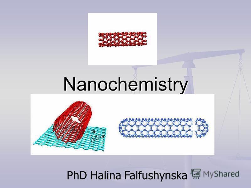 Nanochemistry PhD Halina Falfushynska