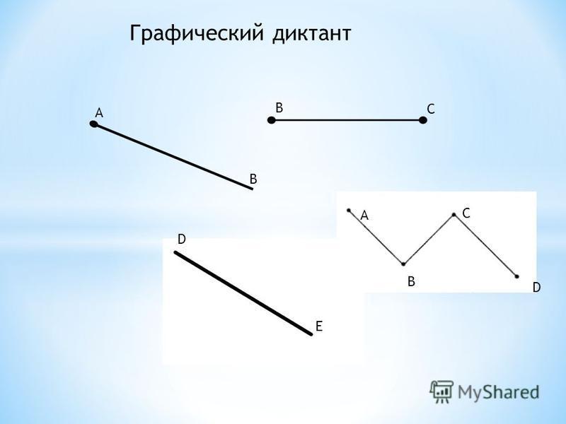 A B B C A B C D D E Графический диктант