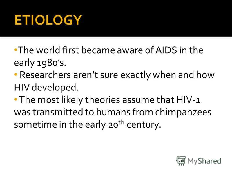 first cases of aids reported in the early 1980s