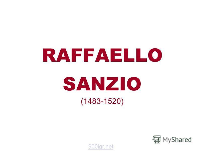 RAFFAELLO SANZIO (1483-1520) 900igr.net
