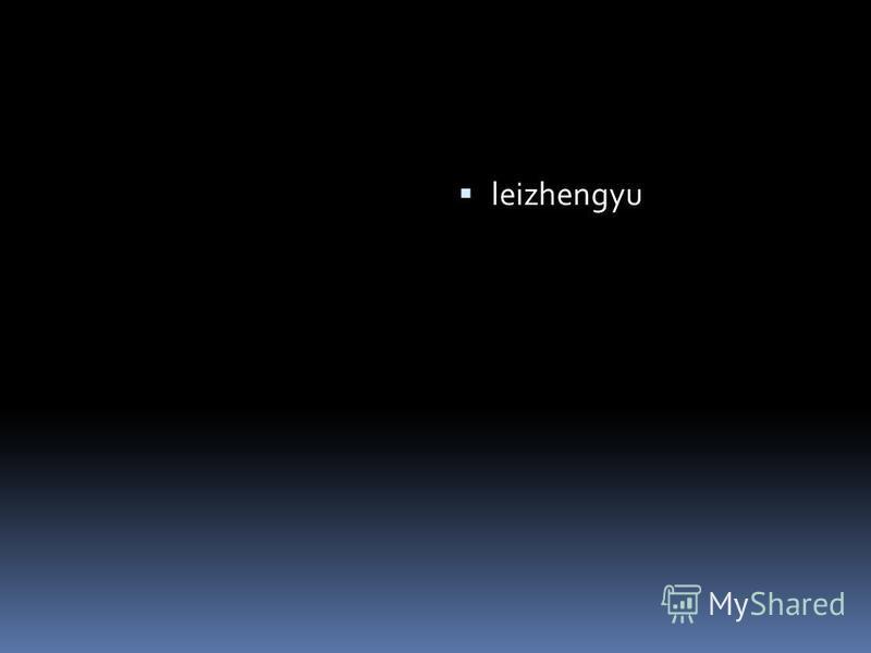 leizhengyu