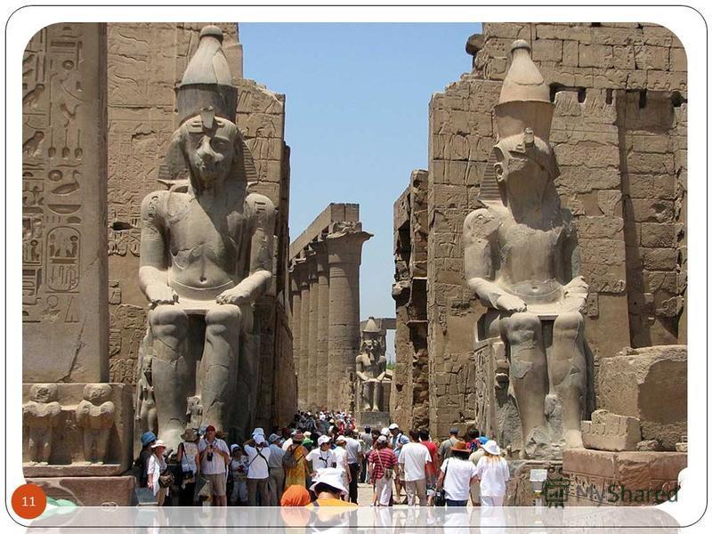Луксорский храм развалины центрального храма Амона-Ра, на правом берегу Нила, в южной части Фив, в пределах современного города Луксор. 10 ZNA05072001