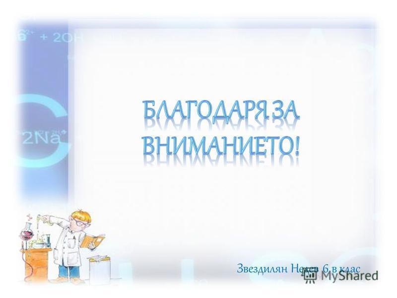 Звездилян Недев 6 в клас