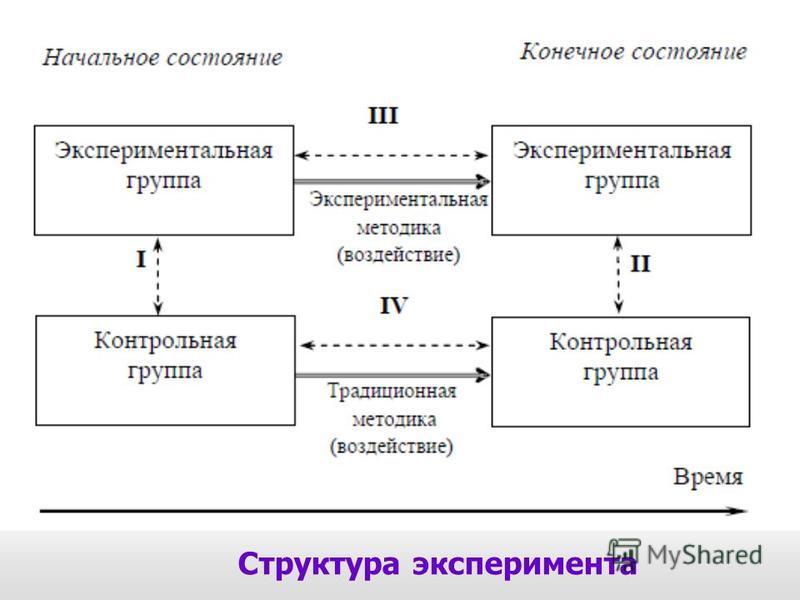 Структура эксперимента