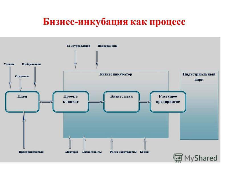 Бизнес-инкубация как процесс