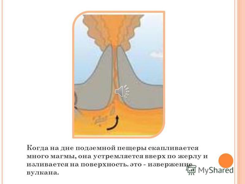 1 2 3 Откуда же оно берется в глубине земли? Ученые думают, что много миллионов лет назад наша земля была очень горячим огненным шаром, но постепенно она остыла, но кое-где в глубине земли еще остались расплавленные, раскаленные участки.