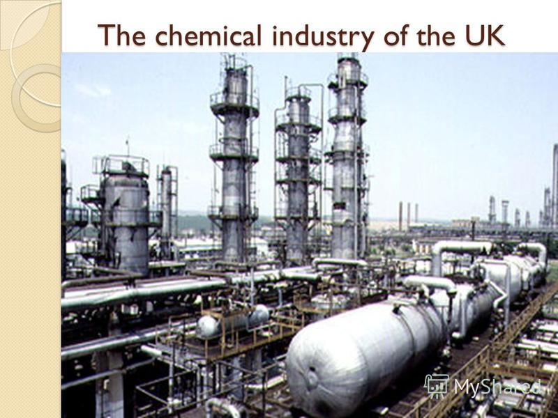 The chemical industry of the UK