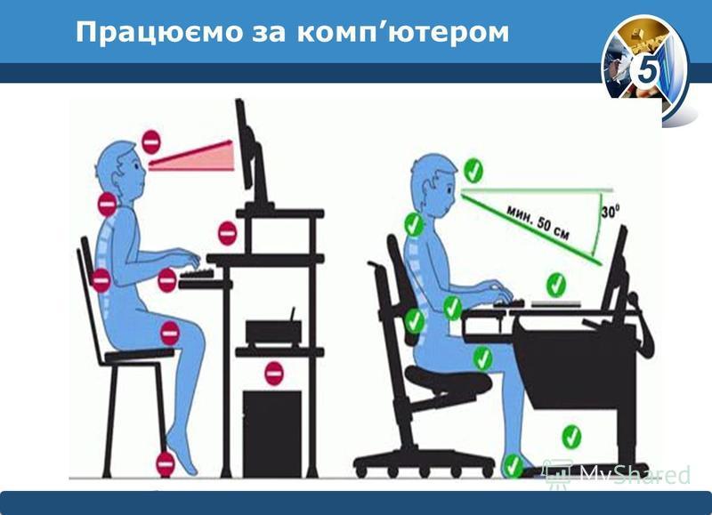 5 © Вивчаємо інформатику teach- inf.at.uateach- inf.at.ua Працюємо за компютером