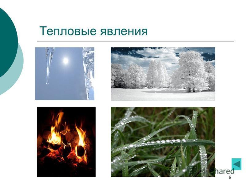 8 Тепловые явления