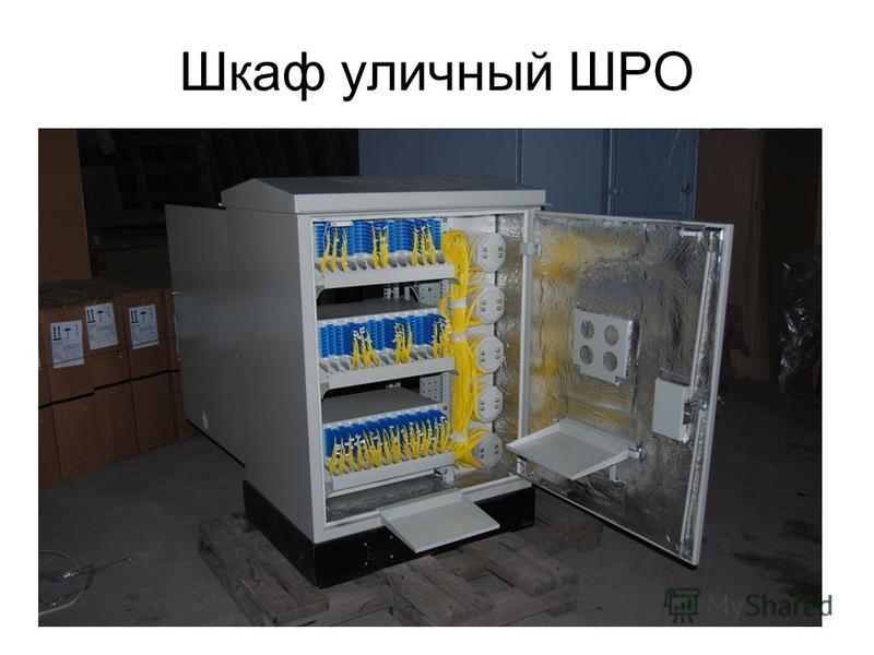 Шкаф уличный ШРО