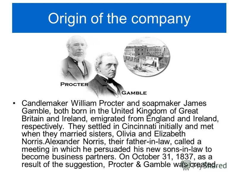 "proctor and gamble history in the philippines Intellectual property/legal ""do the right thing"" that's our motto in legal and all over p&g our experts help protect our assets and."