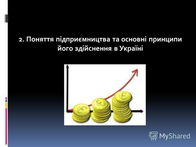 1. Відносини, які регулюються адміністративним правом. 2. Поняття підприємництва та основні принципи його здійснення в Україні