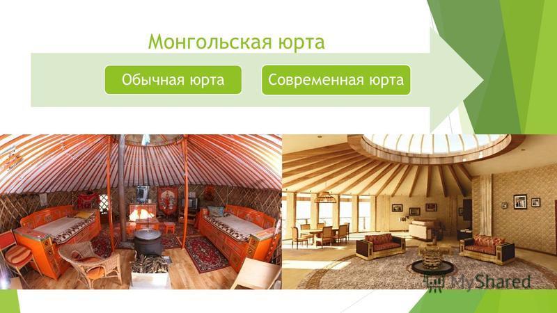 Монгольская юрта Обычная юрта Современная юрта