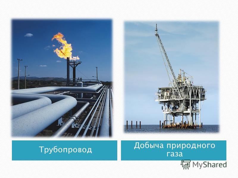 Трубопровод Добыча природного газа