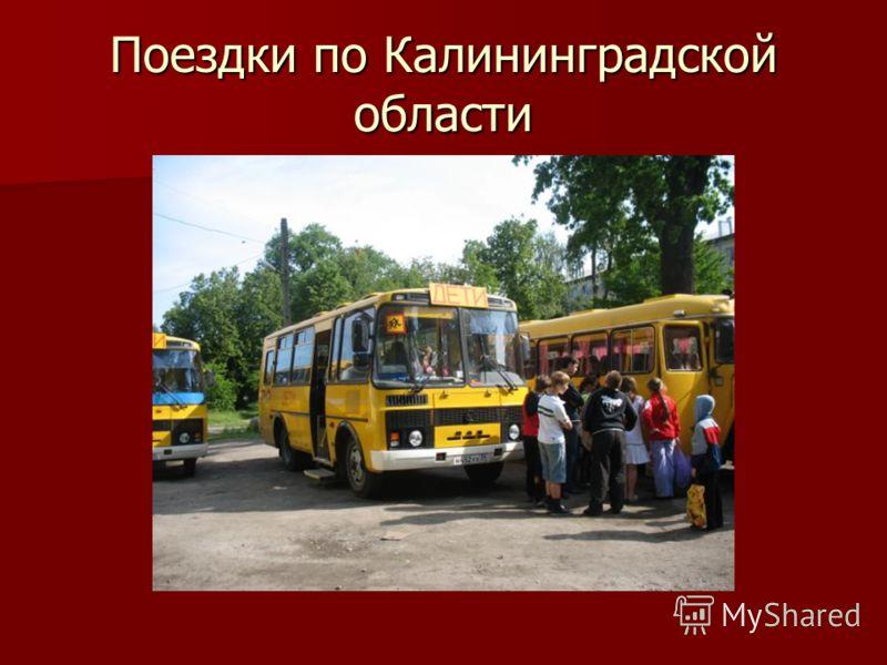 Поездки по Калининградской области