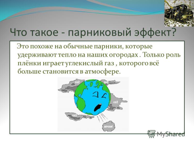 Презентация На Тему Парниковый Эффект