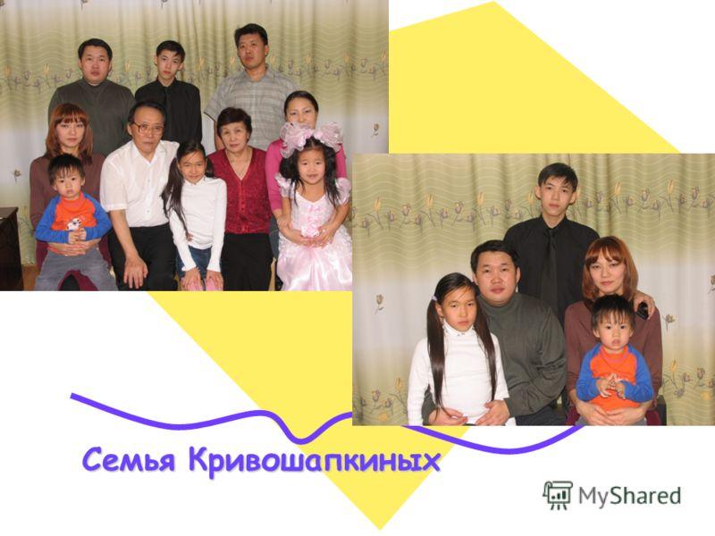Семья Кривошапкиных