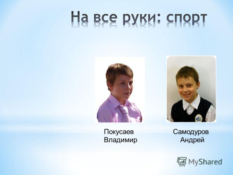 Покусаев Владимир Самодуров Андрей