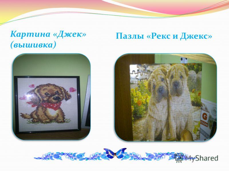 Картина «Джек» (вышивка) Пазлы «Рекс и Джекс»