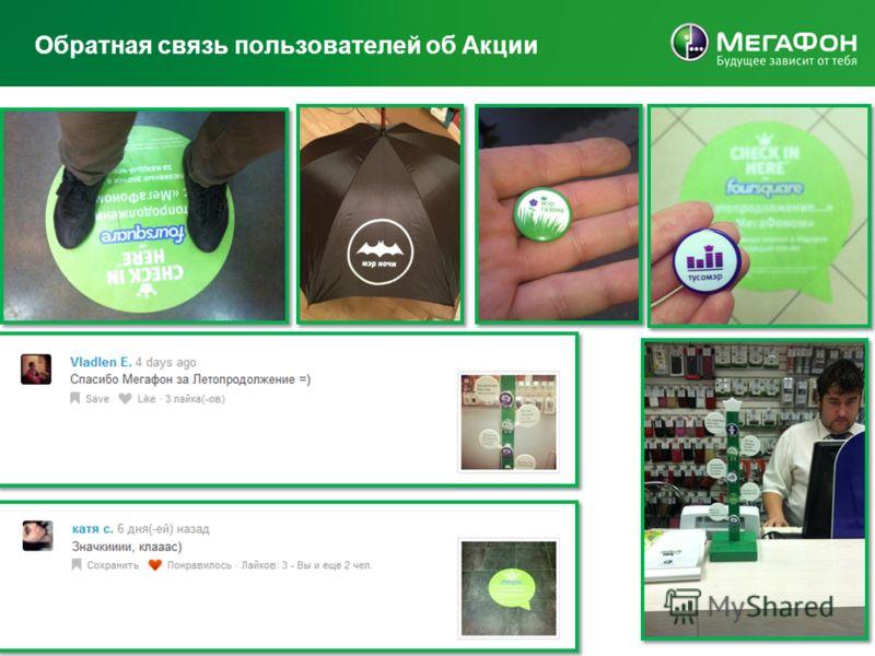 Обратная связь пользователей об Акции MegaFon | Presentation title here | 5/23/2013 11