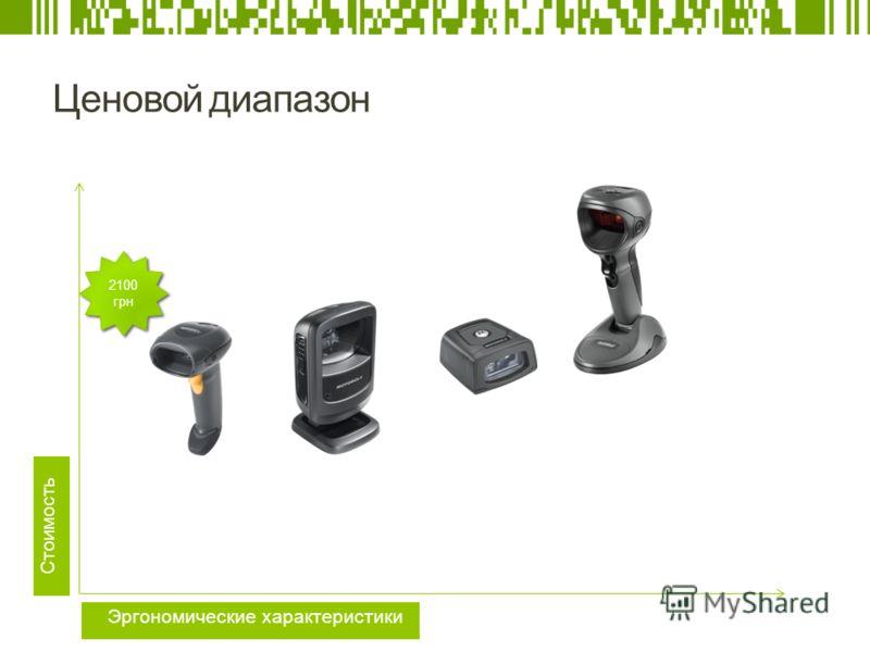 Ценовой диапазон Стоимость Эргономические характеристики 2100 грн