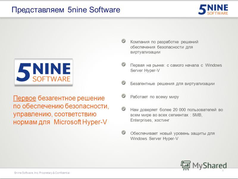 Безопасность для Microsoft Server 2012