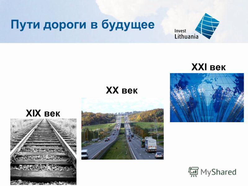 Пути дороги в будущее XXI век XX век XIX век