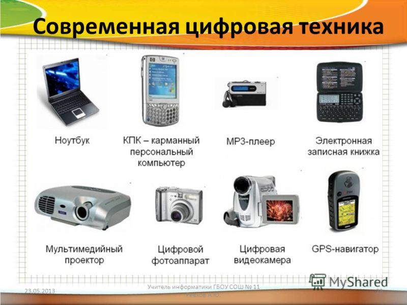 Современная цифровая техника 23 05 2013