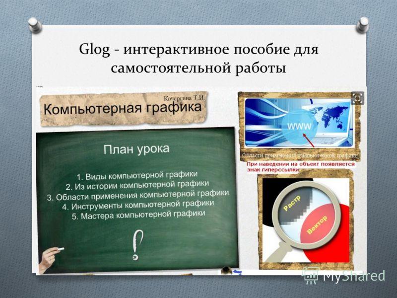 Glog - интерактивное пособие для самостоятельной работы