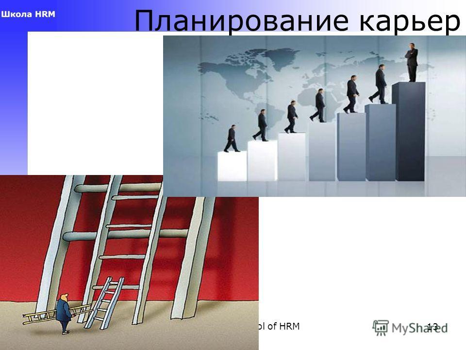 Anna Vlasova, School of HRM13 Планирование карьер