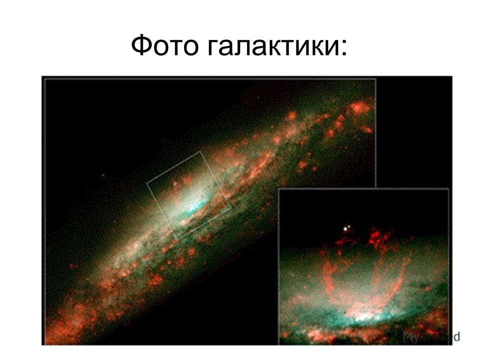 Фото галактики:
