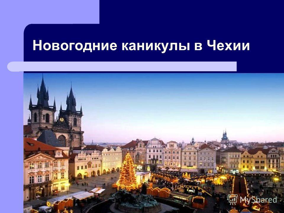 Новогодние каникулы в Чехии