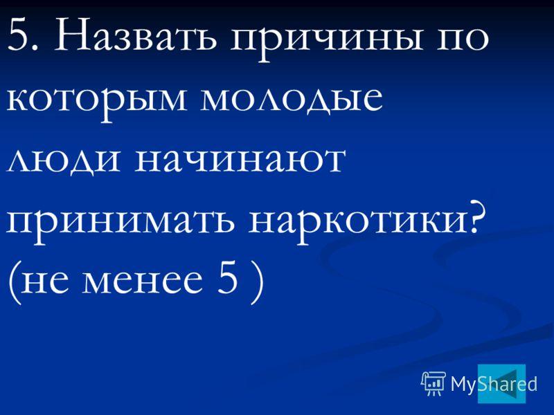 4. Что такое «абстинентный синдром»?