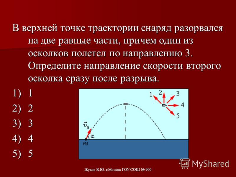 Жуков В.Ю. г.Москва ГОУ СОШ 900 С тележки, движущейся без трения по горизонтальной поверхности, сброшен груз с нулевой начальной скоростью (в системе отсчета, связанной с тележкой). В результате скорость тележки 1)уменьшилась 2)возросла 3)не изменила