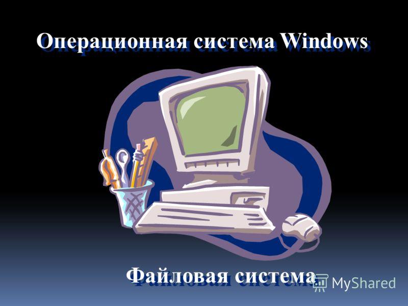 Файловая система Операционная система Windows