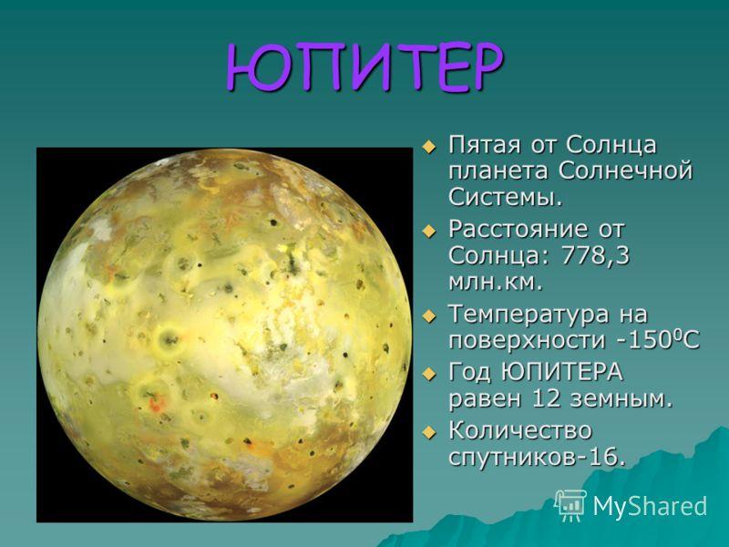 МАРС Четвёртая от Солнца планета Солнечной Системы. Четвёртая от Солнца планета Солнечной Системы. Расстояние от Солнца: 227,94 млн.км. Расстояние от Солнца: 227,94 млн.км. Температура на поверхности от-120 0 С до+25 0 С. Температура на поверхности о