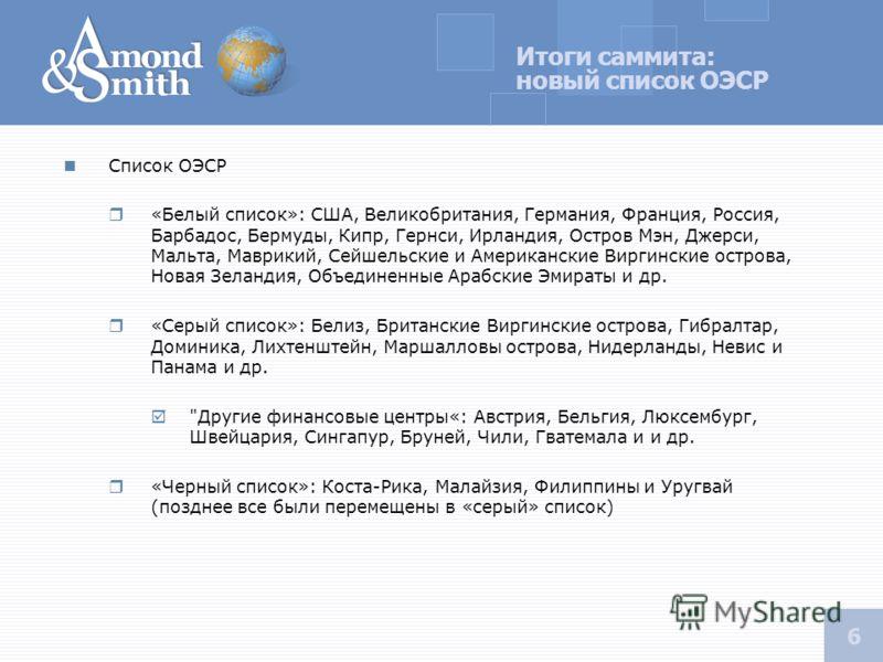 5 Апрельский саммит G-20, позиции крупнейших мировых держав G20 – «Группа двадцати» формат международных совещаний министров финансов и глав центральных банков, представляющих 20 экономик: 19 крупнейших национальных экономик и Европейский союз. США Б