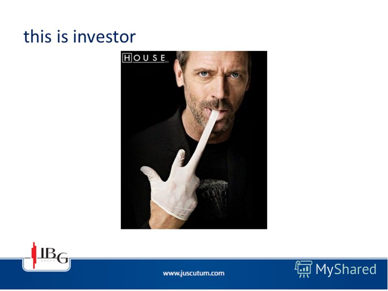 this is investor