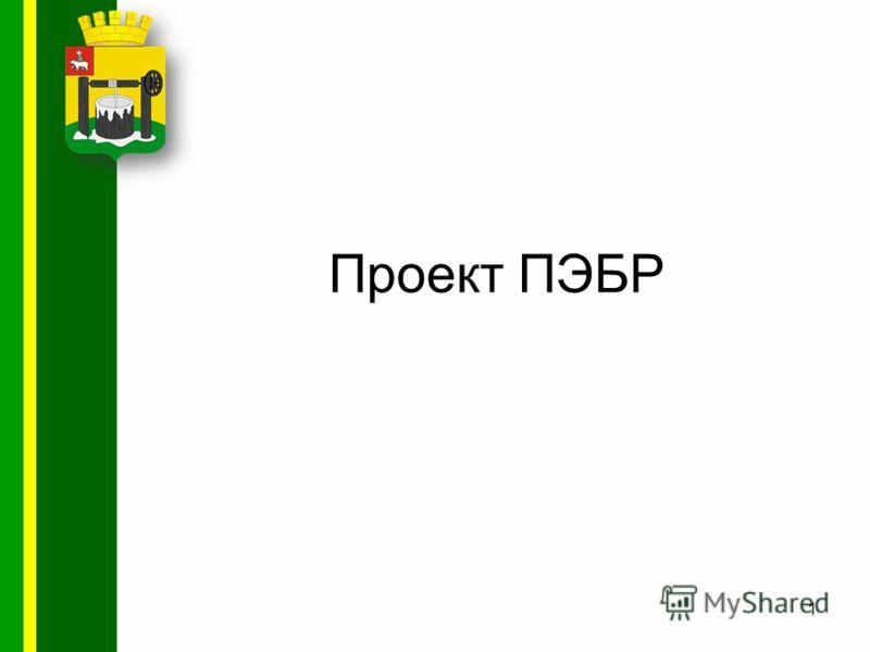 Проект ПЭБР 1