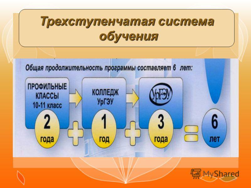 19 Трехступенчатая система обучения обучения