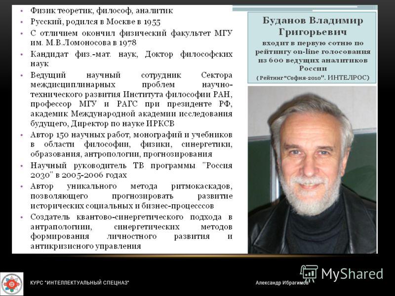 Александр ИбрагимовКУРС ИНТЕЛЛЕКТУАЛЬНЫЙ СПЕЦНАЗ