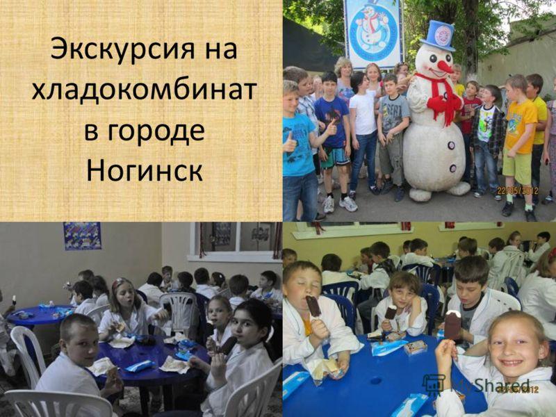 Экскурсия на хладокомбинат в городе Ногинск