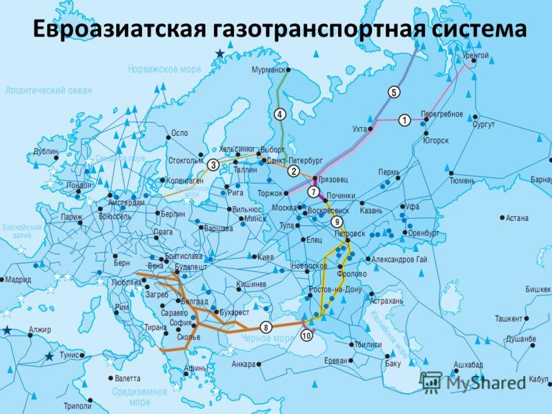 11 Евроазиатская газотранспортная система