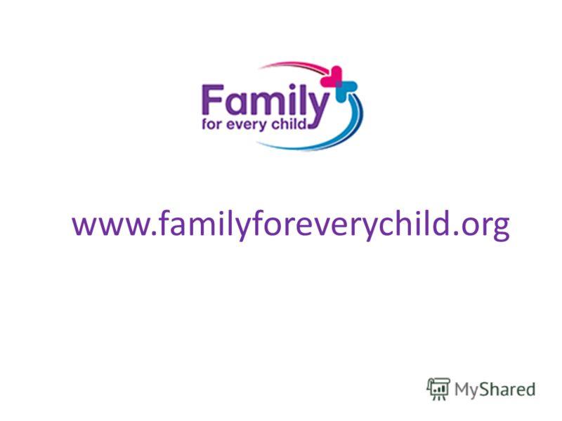 www.familyforeverychild.org