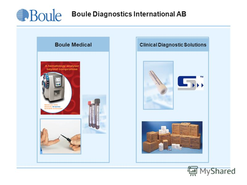 Boule 2008-09-21 Boule Diagnostics International AB Boule Medical Clinical Diagnostic Solutions
